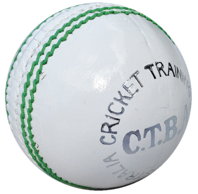 Download Free png White cricket ball.