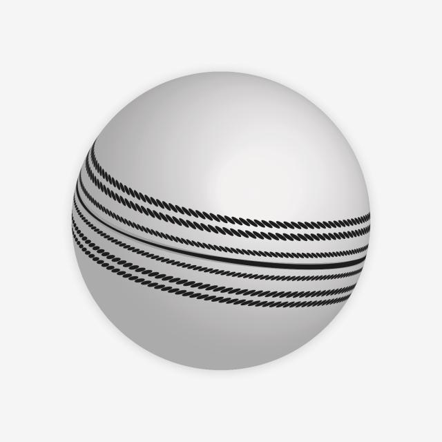 White Cricket Ball Png 3d Vector Image, 3d Cricket Ball Transparent.