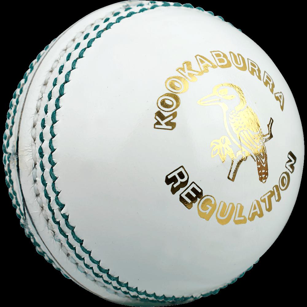 2019 Kookaburra Regulation White Cricket Ball.
