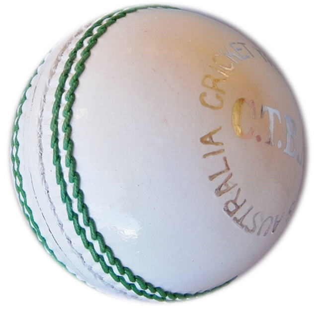 White Cricket Ball Png (+).