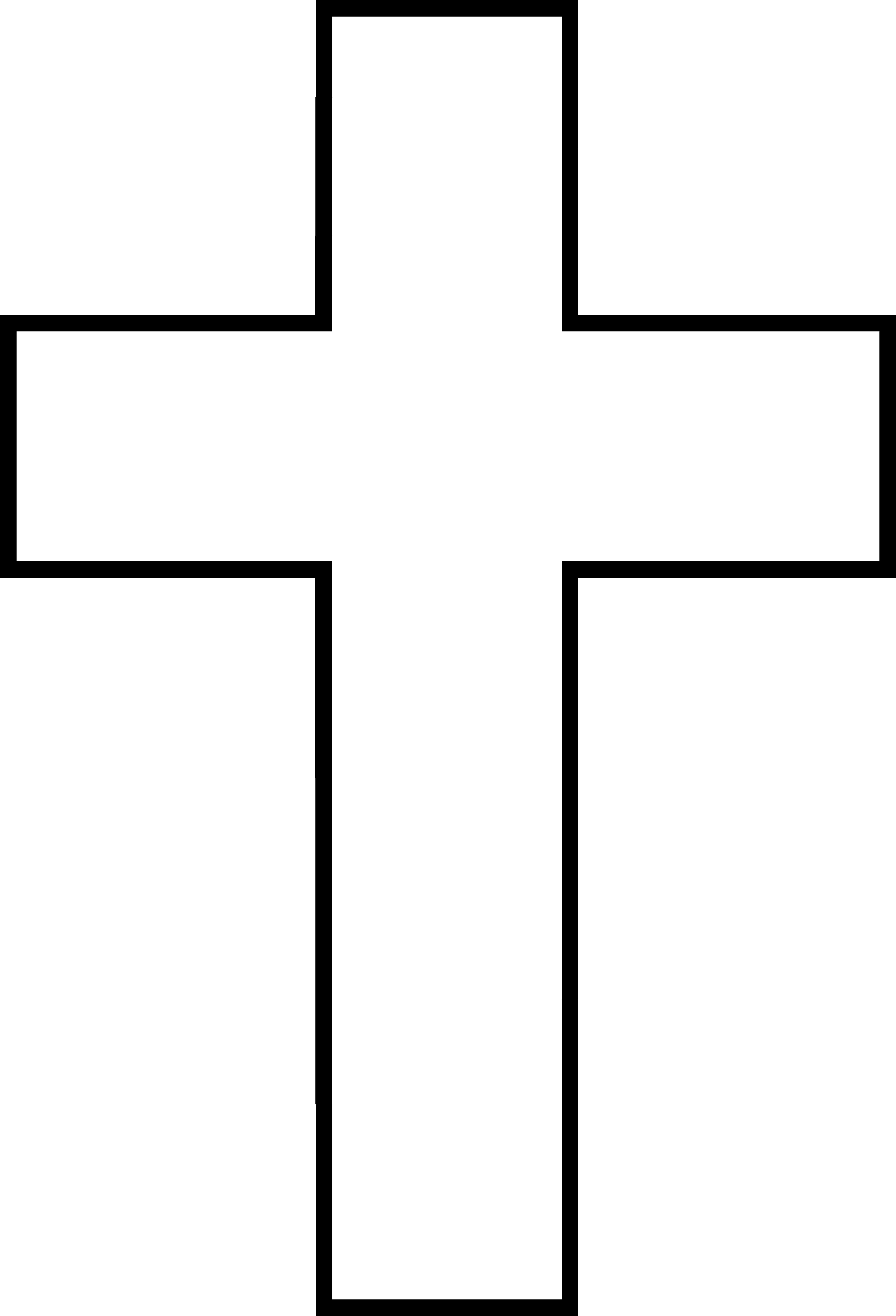 Free clipart white cross.