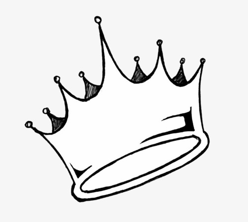 Black and white crown clipart 2 » Clipart Station.