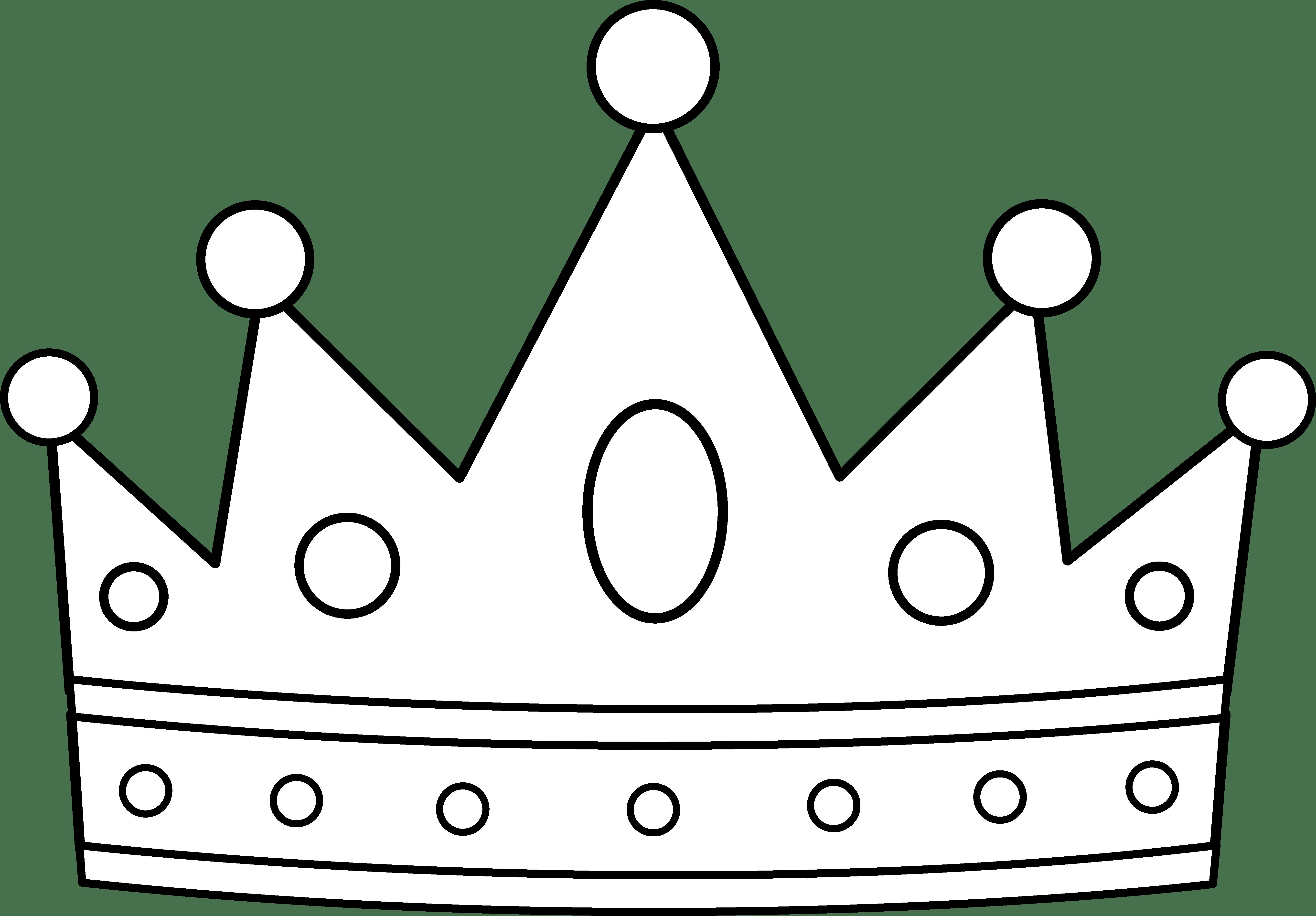 White crown clipart 4 » Clipart Portal.