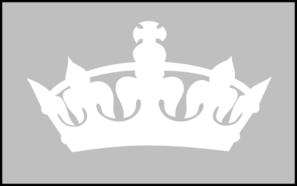 White Crown Clip Art at Clker.com.