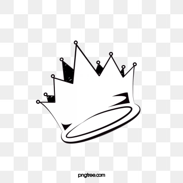 White Crown PNG Images.