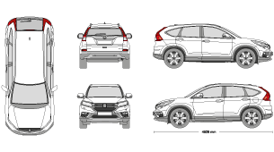 2017 honda cr v clipart clipart images gallery for free.