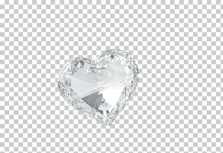 Crystal Diamond Heart Body piercing jewellery Screenshot.