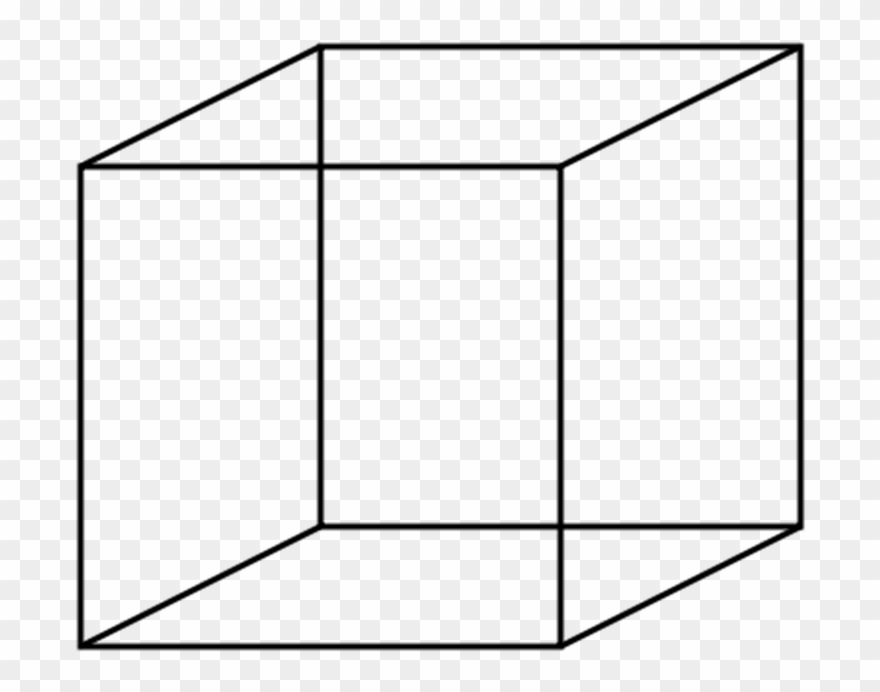Cube Clipart Black And White.