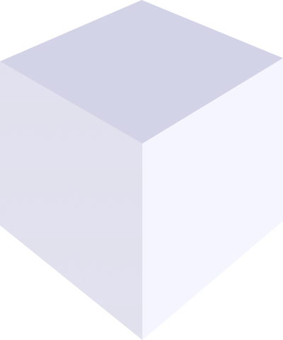 White Cube PNG Picture.