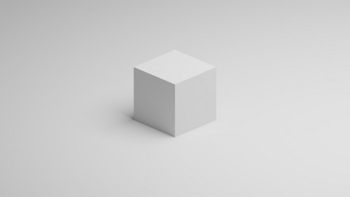 White Cube Png Vector, Clipart, PSD.