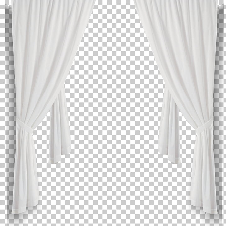 Curtain Black and white Structure, White curtains, white.