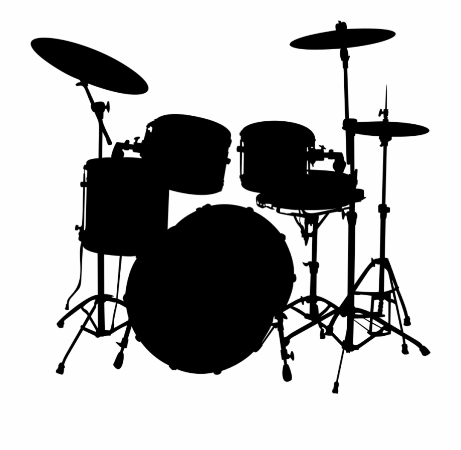 Free Cymbals Clipart Black And White, Download Free Clip Art.