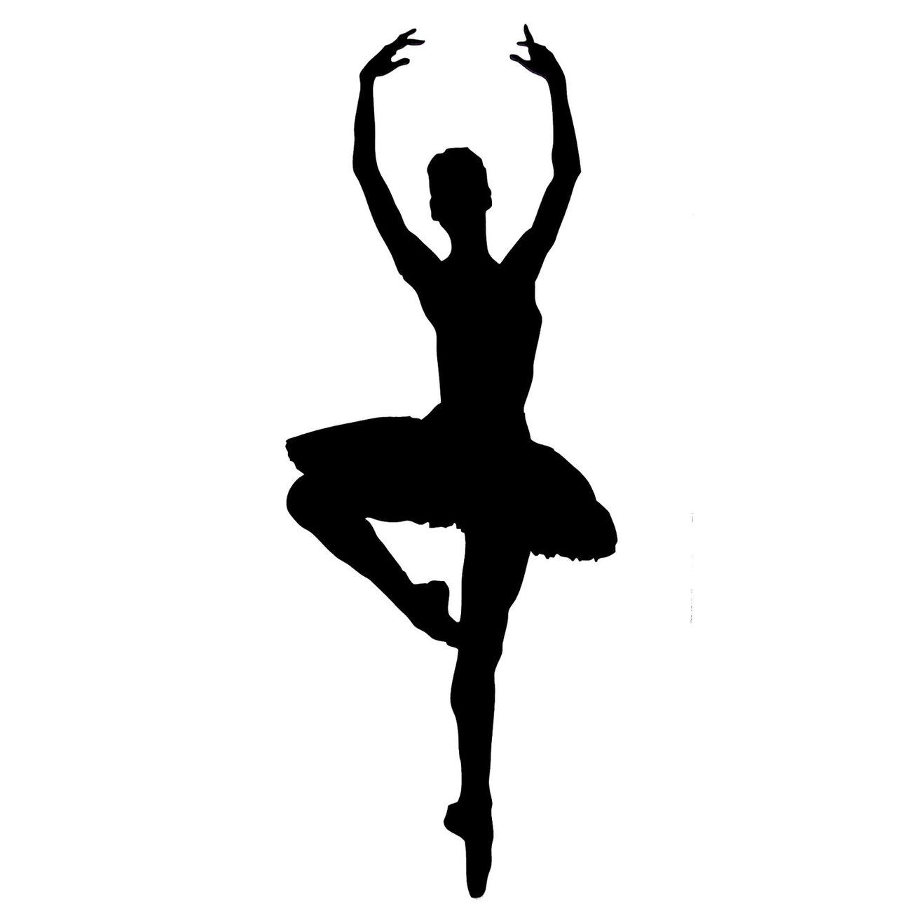 Free Ballet Dancer Silhouette Clip Art, Download Free Clip.