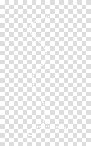 Lines, white dots illustration transparent background PNG.