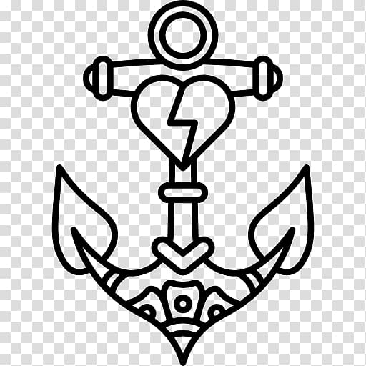 Old school (tattoo) Sailor tattoos, anchor transparent.