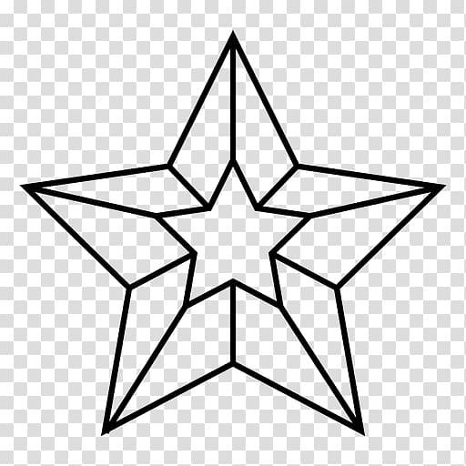Nautical star Sailor tattoos Stencil, star transparent.