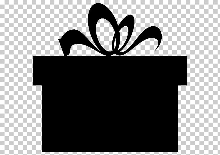 Decorative box Gift Silhouette , gift PNG clipart.