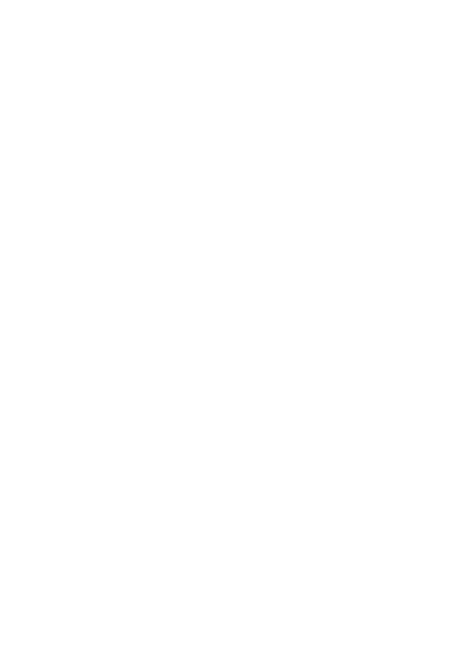 Deer Silhouette White.