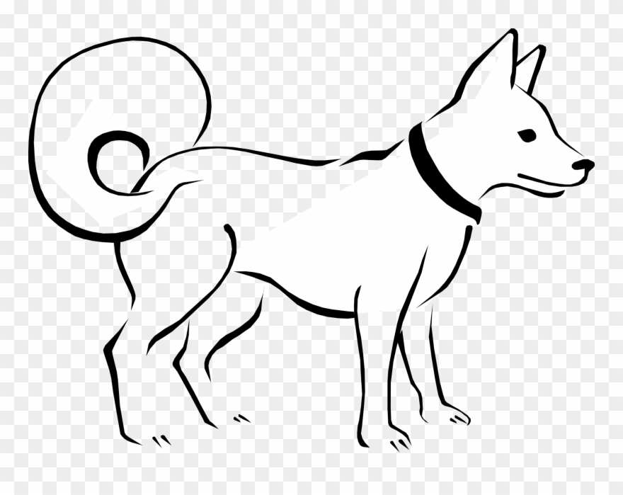 Dog Black And White Dog Clip Art Black And White Free.