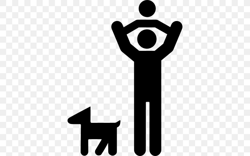Dog Family Child, PNG, 512x512px, Dog, Black And White.