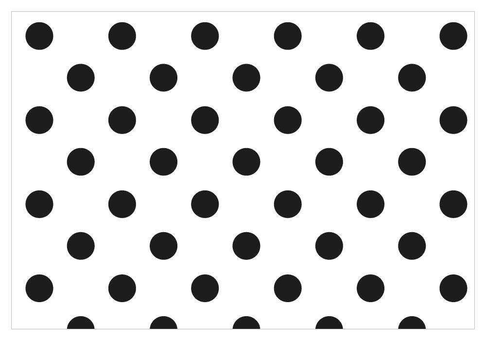 Black Polka Dot Clipart.