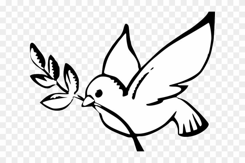 White Dove Clipart Peace.
