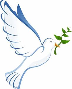 Clipart White Doves.