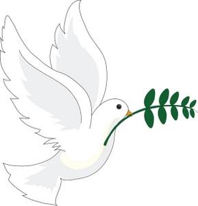 White Dove Free Clipart.