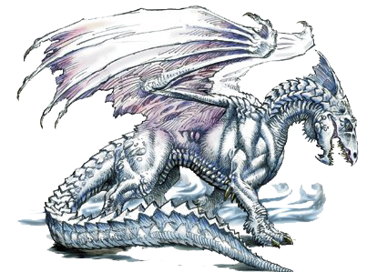 White Dragon PNG Images HD.