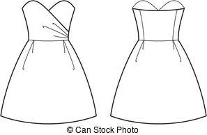 Summer dress Stock Illustrations. 8,525 Summer dress clip art.