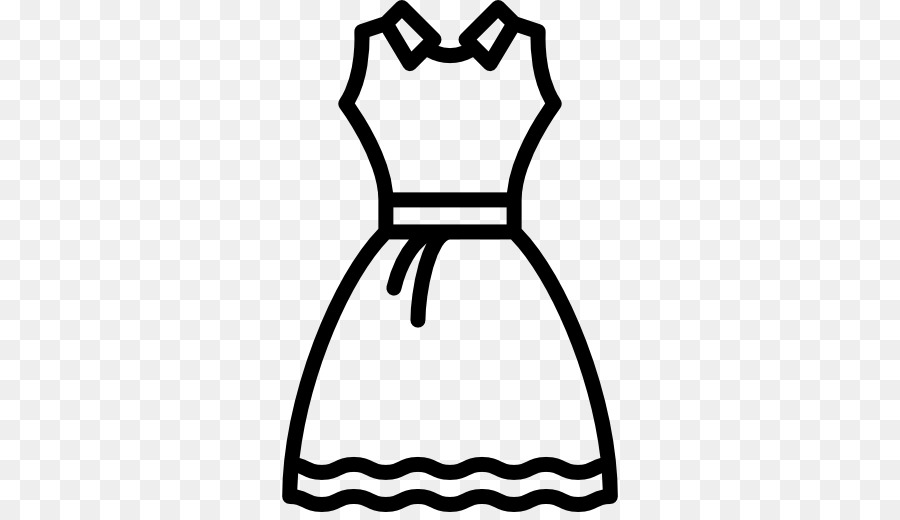 Dress black and white clipart 6 » Clipart Station.