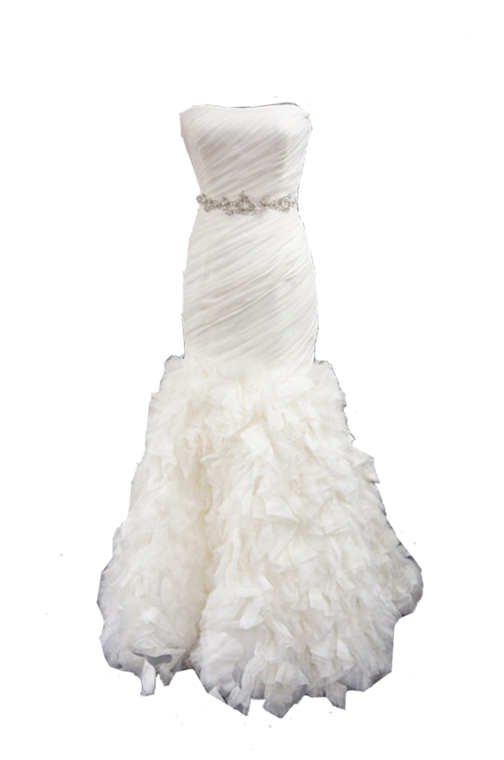 White Dress PNG Picture.