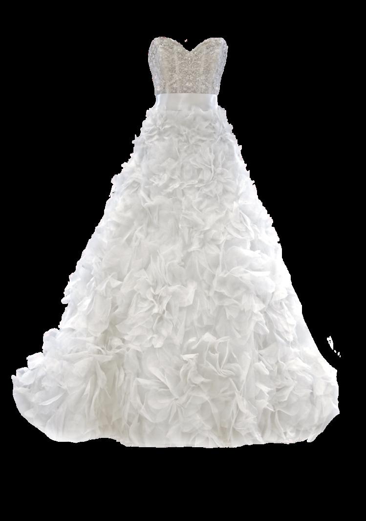 White Dress PNG Pic.