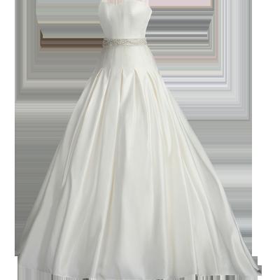 White wedding dress png #26097.