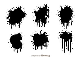 Paint Drip Free Vector Art.