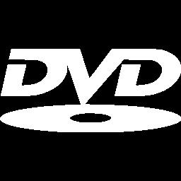White dvd icon.