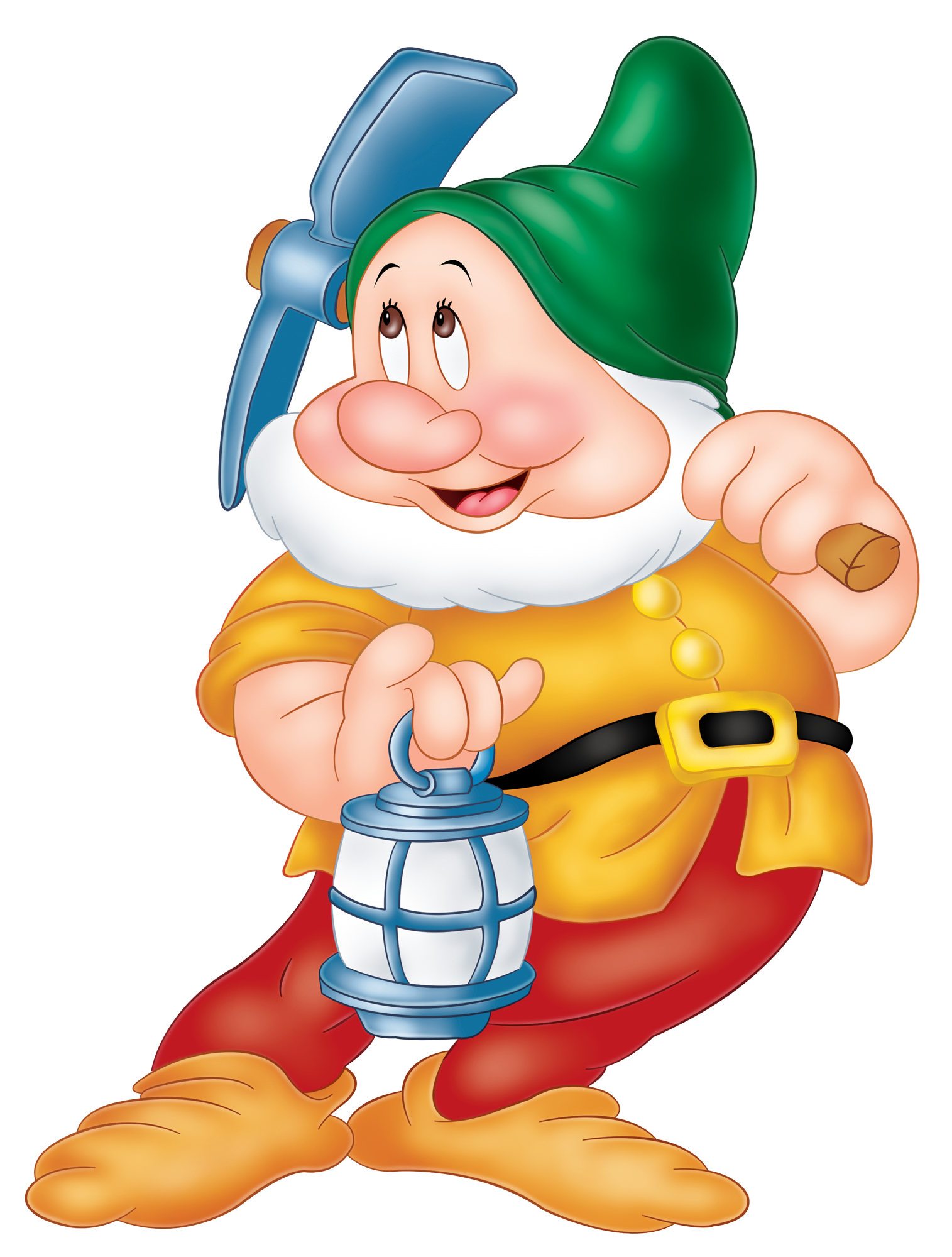 Sneezy Snow White Dwarf PNG Image.