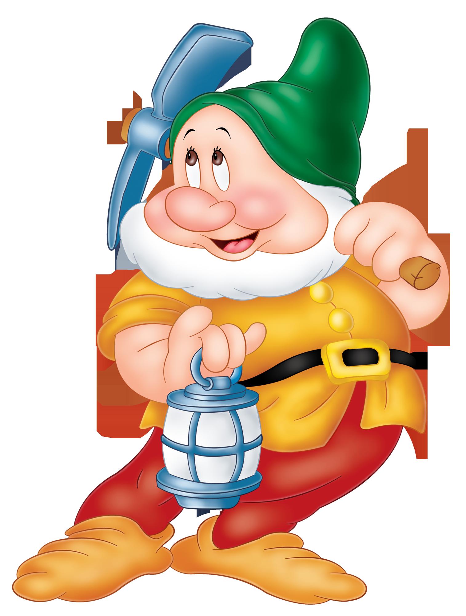 Sneezy Snow White Dwarf PNG Image.