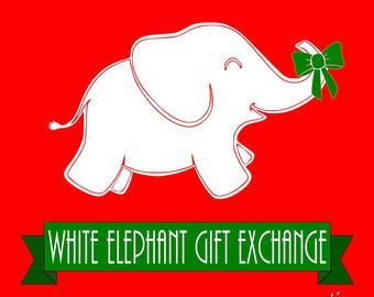 White Elephant Thanksgiving? Themed White Elephant Party?.