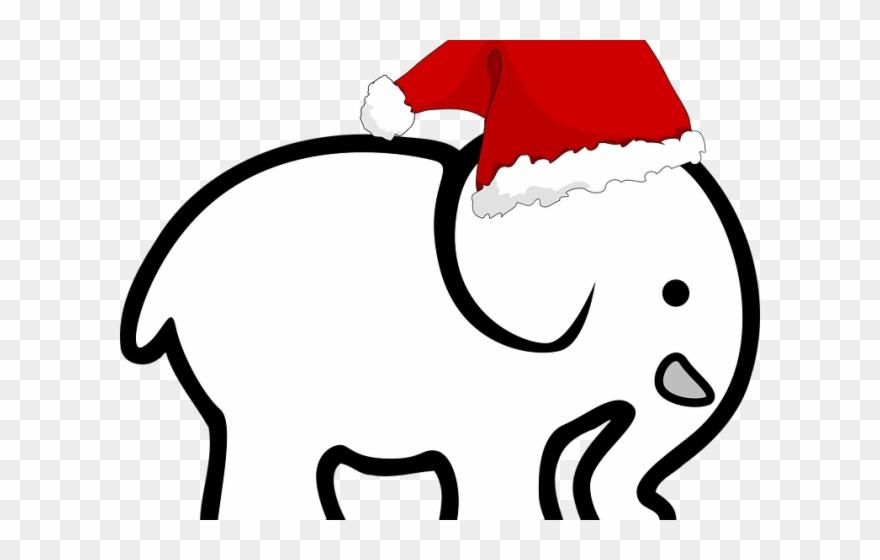 Christmas Clipart Elephant.