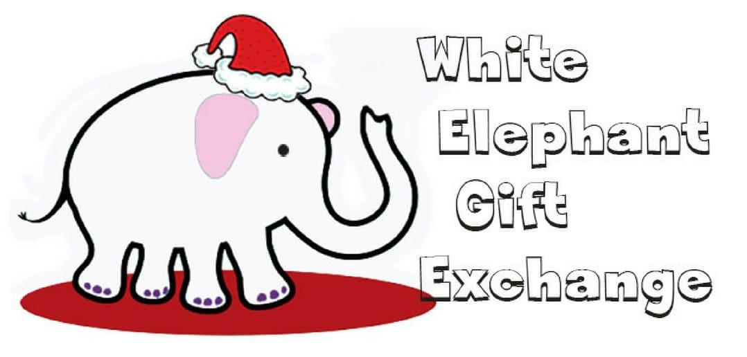 White Elephant Gift Exchange.