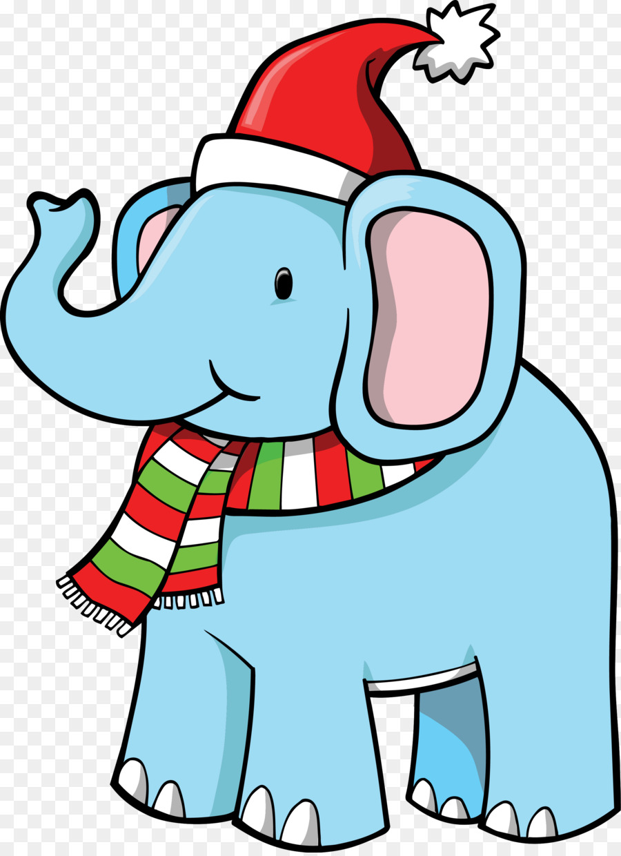 White Elephant Christmas png download.