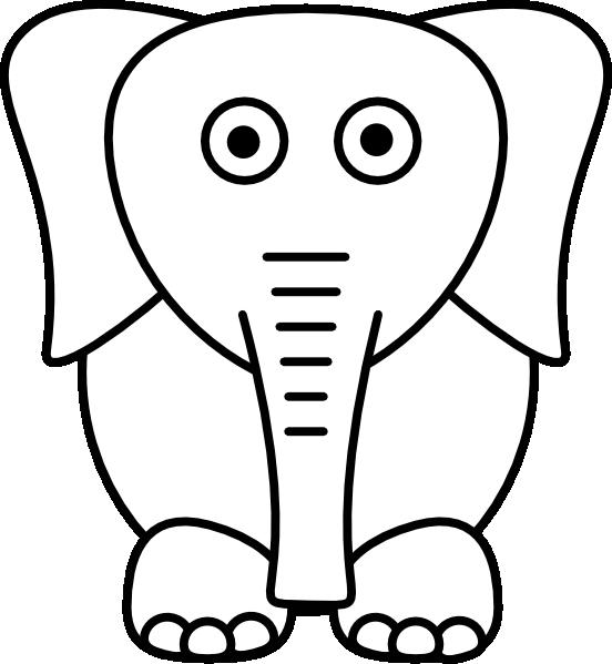 Elephants clipart plain, Elephants plain Transparent FREE.