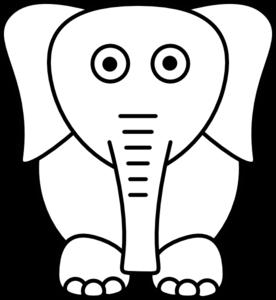 White Elephant Clip Art at Clker.com.