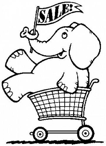WHITE ELEPHANT STALL.