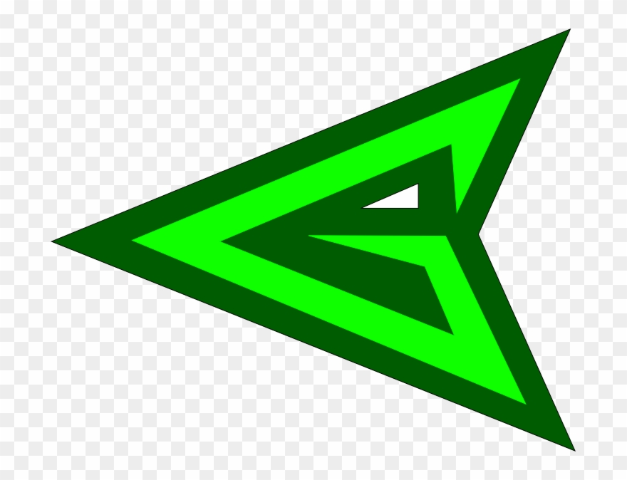 Banner Black And White Download Green Arrow Emblem.