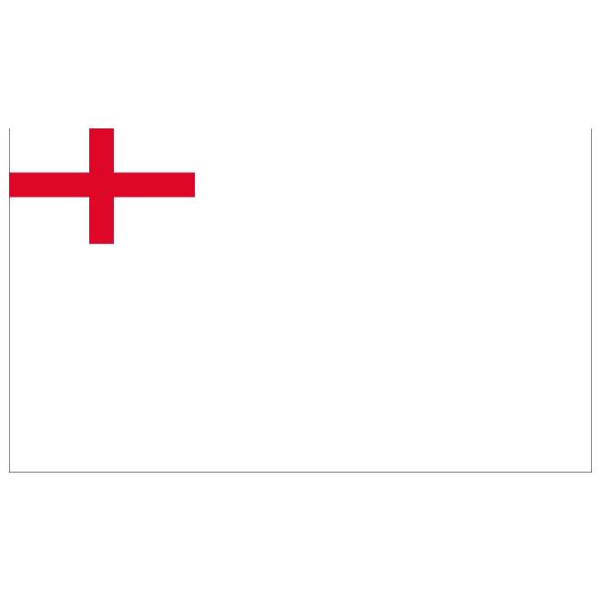 English white ensign vector flag.