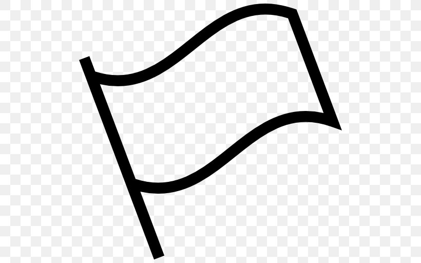 White Flag Clip Art, PNG, 512x512px, Flag, Area, Black.