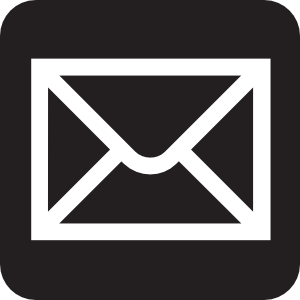 Envelope Clipart Black And White.