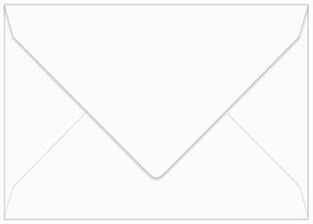 A1 Gmund Cotton Max White Envelopes.